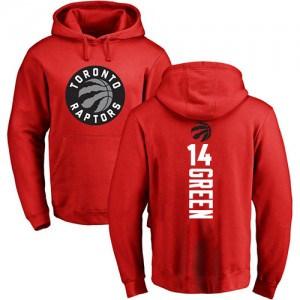 Hoodie De Basket Green Toronto Raptors No.14 Homme & Enfant Pullover Nike Rouge Backer
