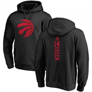 Nike NBA Hoodie De Danny Green Toronto Raptors No.14 Pullover Backer noir une couleur Homme & Enfant