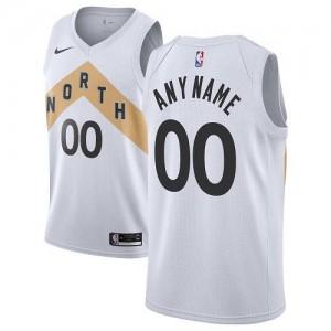 Nike Personnalisable Maillot Basket Raptors Homme City Edition Blanc