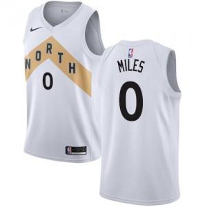 Maillots C.J. Miles Toronto Raptors Nike Blanc Enfant #0 City Edition