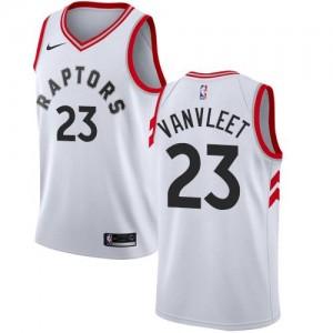 Nike NBA Maillot De VanVleet Toronto Raptors Enfant No.23 Blanc Association Edition