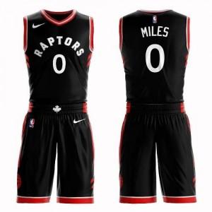 Nike NBA Maillot C.J. Miles Toronto Raptors Homme Noir #0 Suit Statement Edition