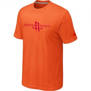 T-Shirt Rockets Orange Homme Big & Tall Primary Logo