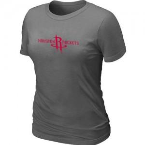 NBA Tee-Shirt De Basket Houston Rockets Femme Big & Tall Primary Logo Gris foncé