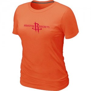 T-Shirt De Basket Houston Rockets Orange Femme Big & Tall Primary Logo