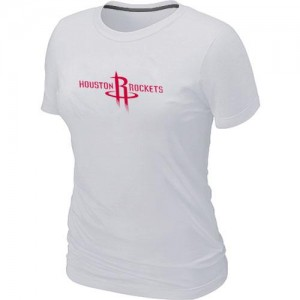 Tee-Shirt Rockets Femme Big & Tall Primary Logo Blanc