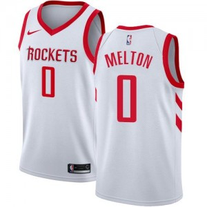 Nike NBA Maillot De Basket Melton Rockets Association Edition Blanc Homme #0