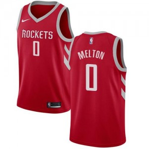 Nike Maillots De De'Anthony Melton Rockets Homme Icon Edition No.0 Rouge