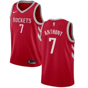 Nike Maillots Carmelo Anthony Houston Rockets Icon Edition Rouge Homme #7