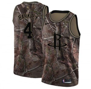 Maillot De Basket Barkley Rockets Nike No.4 Realtree Collection Camouflage Homme