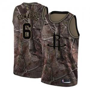 Nike NBA Maillots Basket Edwards Houston Rockets Enfant Camouflage Realtree Collection #6