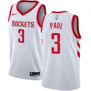 Nike NBA Maillot De Basket Chris Paul Houston Rockets Enfant Blanc #3 Association Edition