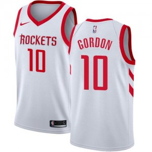 Nike NBA Maillots De Eric Gordon Rockets No.10 Association Edition Enfant Blanc
