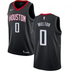 Maillots Basket De'Anthony Melton Rockets Noir No.0 Nike Enfant Statement Edition