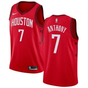Nike Maillot De Anthony Houston Rockets Rouge Earned Edition No.7 Homme