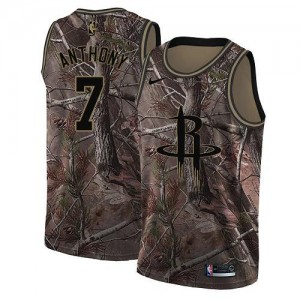 Nike Maillots Anthony Houston Rockets #7 Camouflage Realtree Collection Enfant