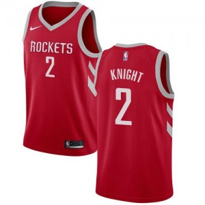 Nike Maillots Basket Brandon Knight Rockets Icon Edition Rouge Homme No.2