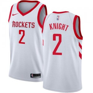 Nike Maillots Knight Houston Rockets Enfant Blanc Association Edition No.2