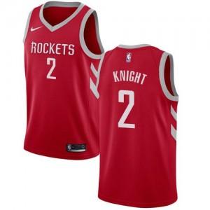 Nike NBA Maillots De Brandon Knight Houston Rockets No.2 Rouge Enfant Icon Edition