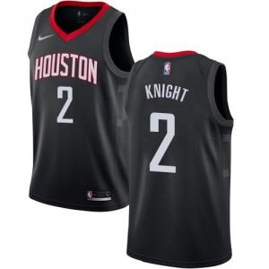 Nike Maillot Basket Brandon Knight Rockets Noir No.2 Enfant Statement Edition