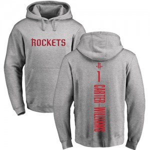 Hoodie Basket Michael Carter-Williams Houston Rockets No.1 Homme & Enfant Nike Pullover Ash Backer