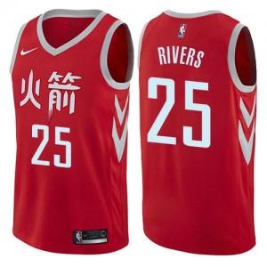 Maillot Austin Rivers Houston Rockets No.25 Rouge City Edition Enfant Nike