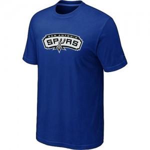 NBA Tee-Shirt Basket Spurs Big & Tall Primary Logo Homme Bleu