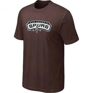 NBA Tee-Shirt Basket Spurs Big & Tall Primary Logo Homme brun