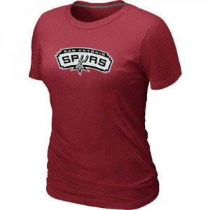 Tee-Shirt Spurs Femme Rouge Big & Tall Primary Logo