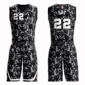 Nike Maillots Gay San Antonio Spurs Suit City Edition #22 Camouflage Homme