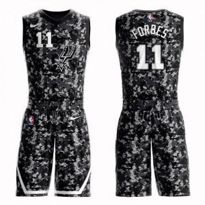 Maillot De Bryn Forbes San Antonio Spurs Suit City Edition Camouflage #11 Enfant Nike