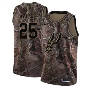 Nike Maillots Basket Jakob Poeltl Spurs Homme Realtree Collection No.25 Camouflage