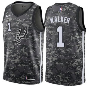 Nike NBA Maillot De Basket Lonnie Walker Spurs #1 Enfant Camouflage City Edition