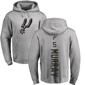 Nike NBA Hoodie De Basket Murray San Antonio Spurs No.5 Homme & Enfant Pullover Ash Backer