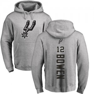 Nike Hoodie De Bruce Bowen Spurs #12 Ash Backer Homme & Enfant Pullover