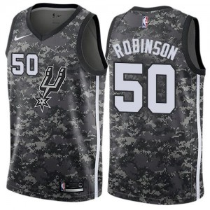 Maillot Basket Robinson San Antonio Spurs Enfant Camouflage City Edition No.50 Nike