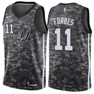 Nike NBA Maillot Forbes San Antonio Spurs Enfant City Edition #11 Camouflage