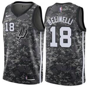 Nike Maillots De Marco Belinelli San Antonio Spurs Camouflage City Edition Enfant No.18