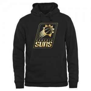 Hoodie Phoenix Suns Noir Gold Collection Pullover Homme