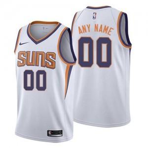 Maillot Personnalisable De Basket Suns Homme Association Edition Blanc Nike