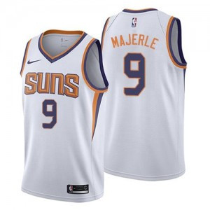 Maillots Dan Majerle Phoenix Suns #9 Blanc Homme Association Edition Nike