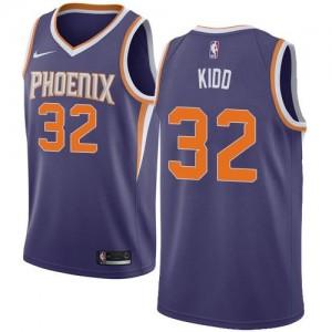 Maillots Basket Jason Kidd Suns No.32 Homme Violet Icon Edition Nike
