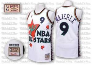 Adidas NBA Maillot De Basket Majerle Suns No.9 1995 All Star Throwback Blanc Homme