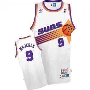 Adidas Maillots De Basket Majerle Phoenix Suns Throwback #9 Blanc Homme