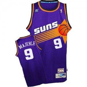 Adidas NBA Maillot De Basket Dan Majerle Suns Throwback Homme #9 Violet
