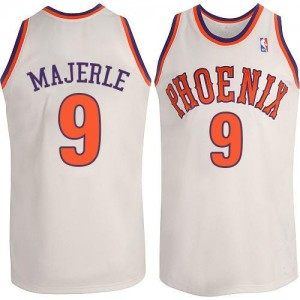 Adidas NBA Maillot De Dan Majerle Suns No.9 Blanc Homme New Throwback