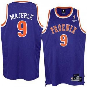 Adidas Maillot Dan Majerle Phoenix Suns Violet New Throwback No.9 Homme