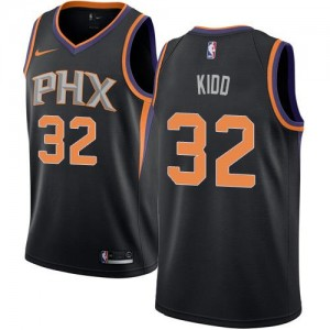 Maillot Kidd Phoenix Suns #32 Noir Statement Edition Enfant Nike