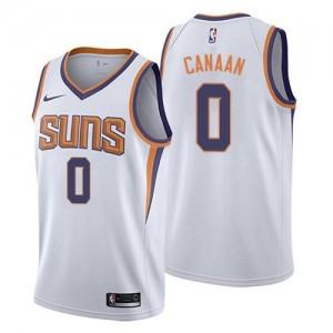 Nike NBA Maillot De Isaiah Canaan Suns Blanc Association Edition No.0 Enfant