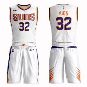 Nike NBA Maillot Basket Kidd Phoenix Suns Blanc Homme Suit Association Edition No.32